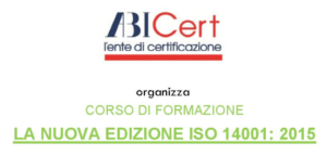 LA NUOVA EDIZIONE ISO 14001-2015