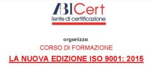 La nuova edizione ISO 9001:2015